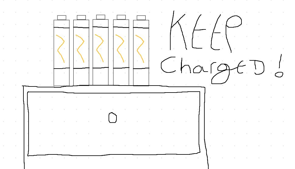 charging up vibrator