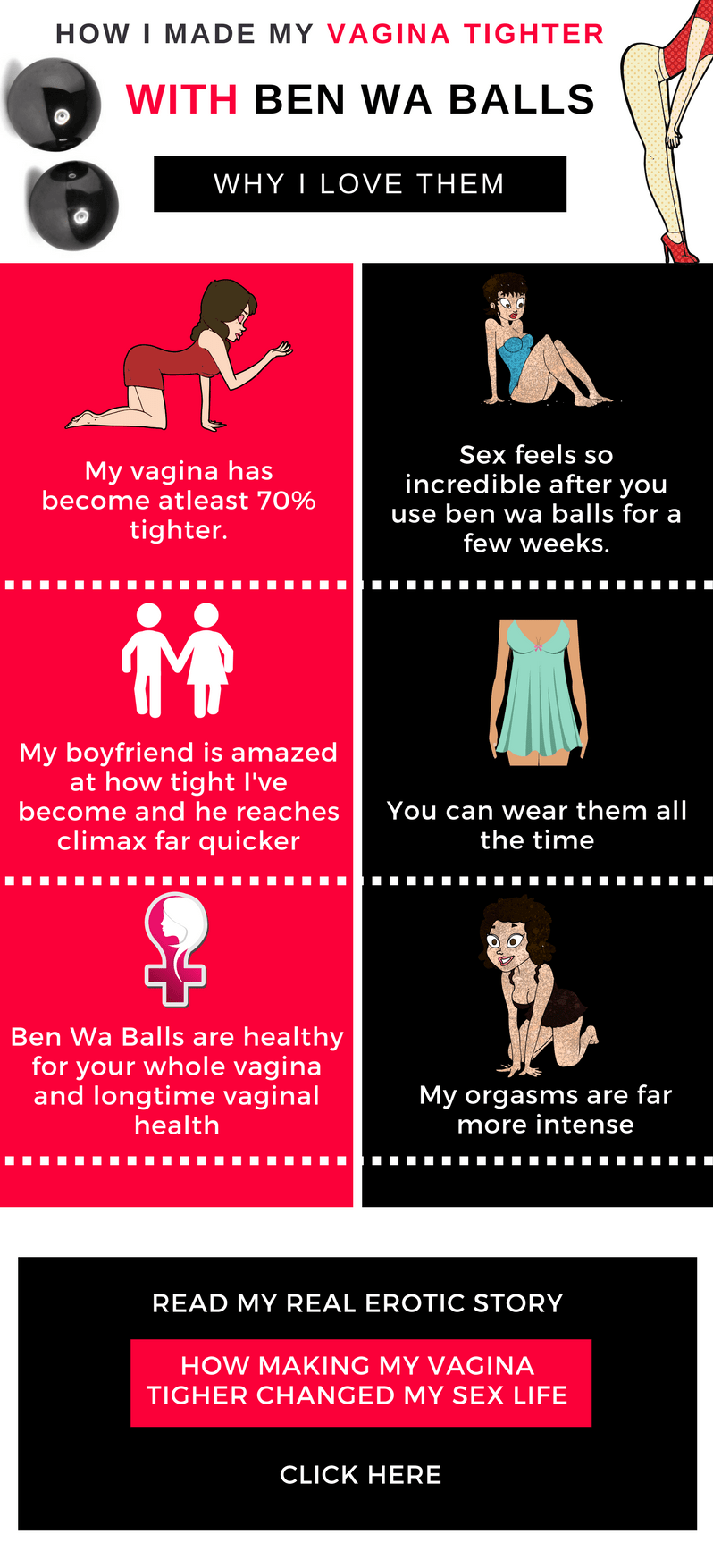 infographic about getting a tighter vagina