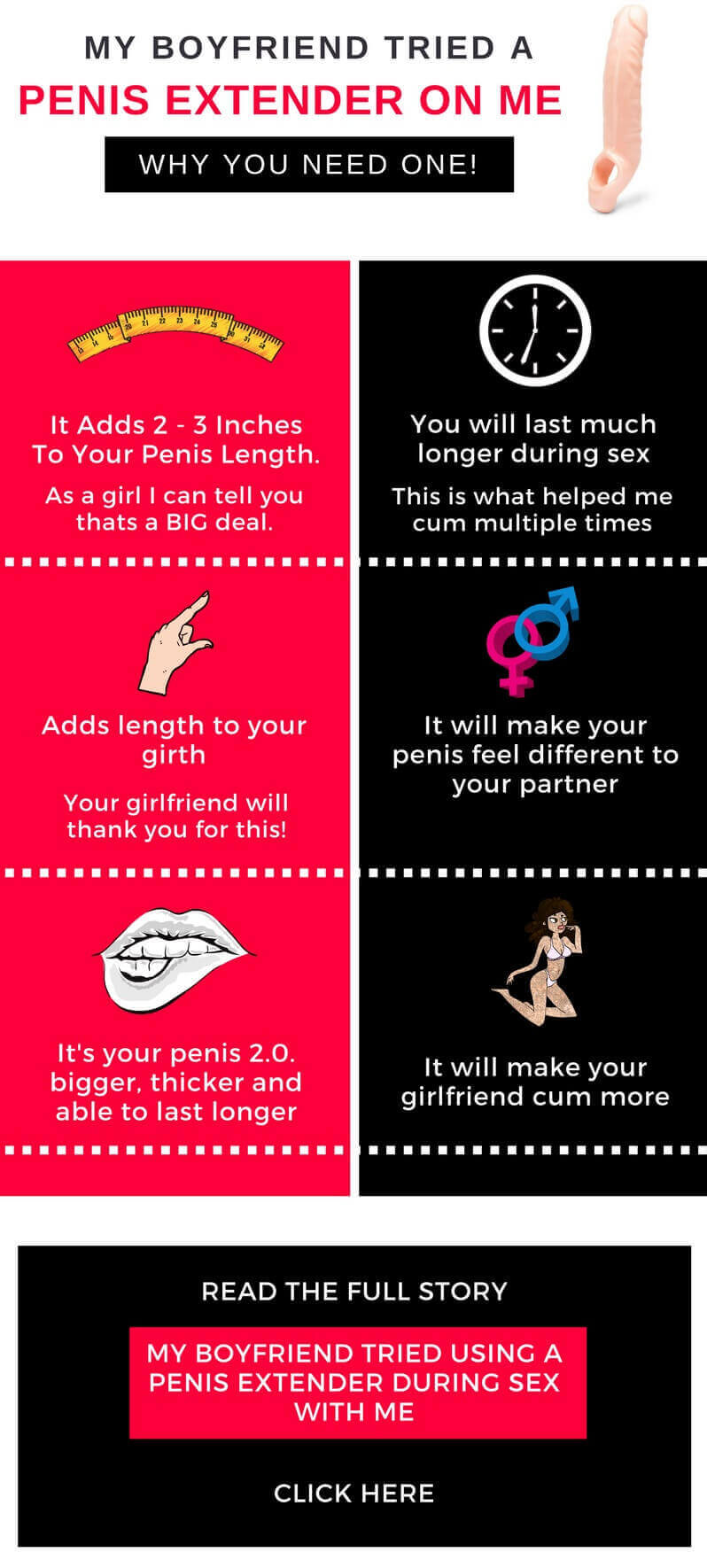 penis extender infographic