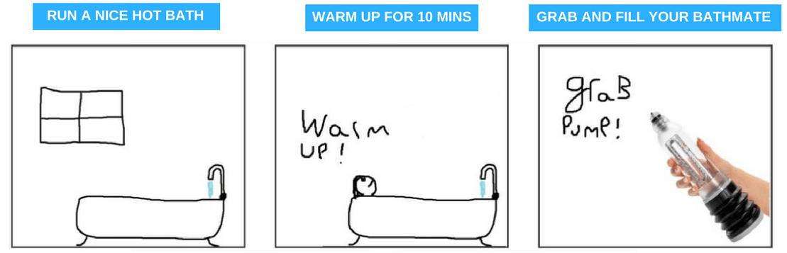 penis pump routine