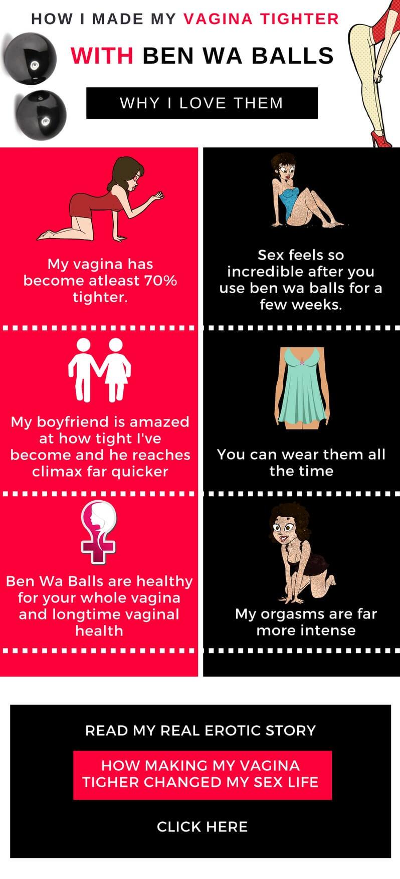 vaginal tightening infographic