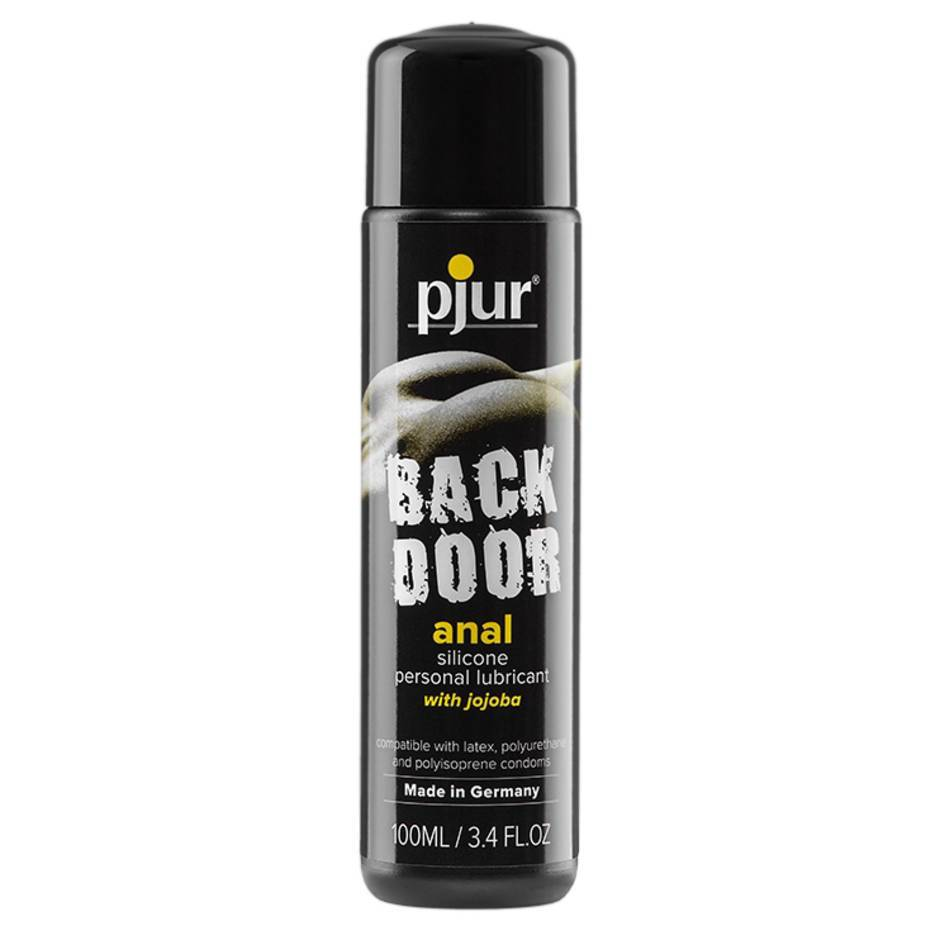 rear door anal lubricant bottle
