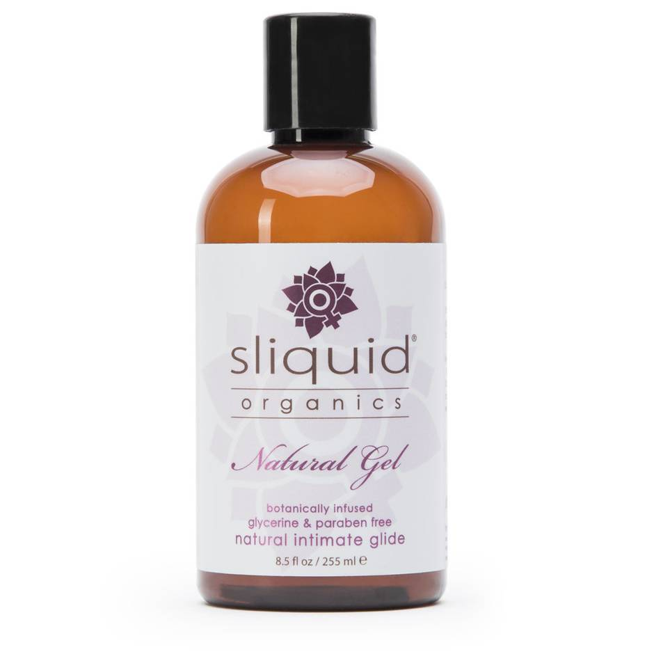 liquid organic natural anal lubricant bottle