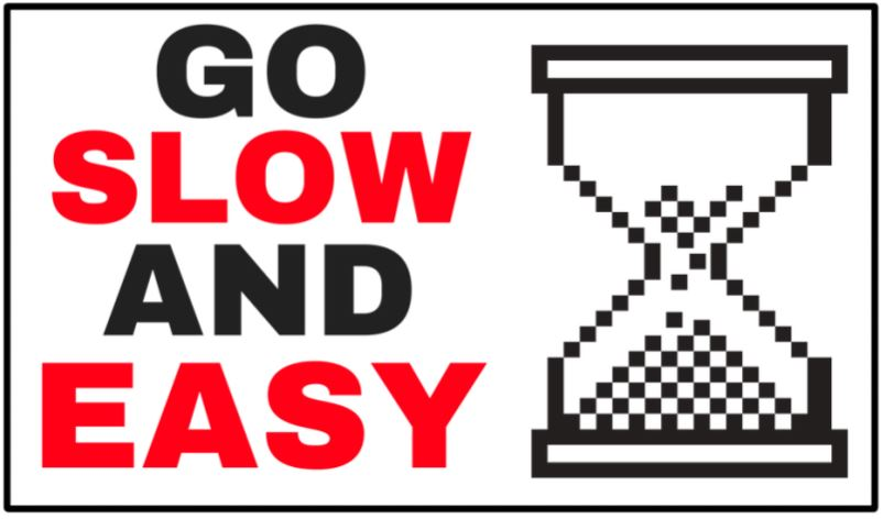 go slow with anal sex toys