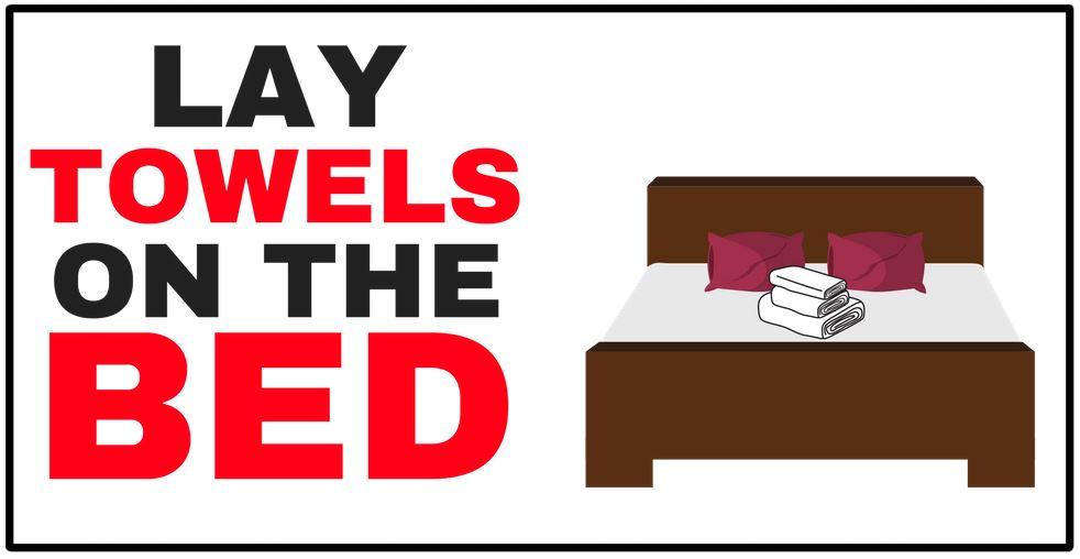 cartoon of bed
