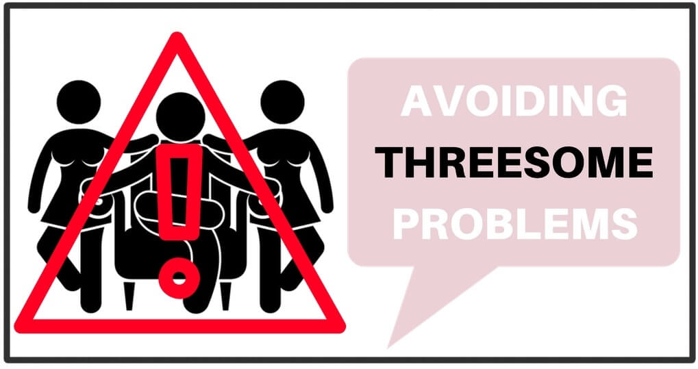 avoiding threesome problems cartoon