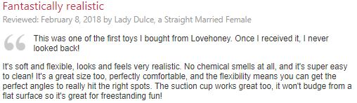 Lovehoney dildo review