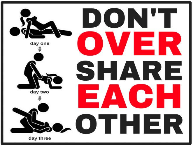 over sharing