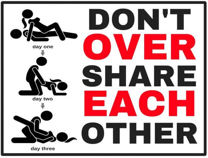 on sharing