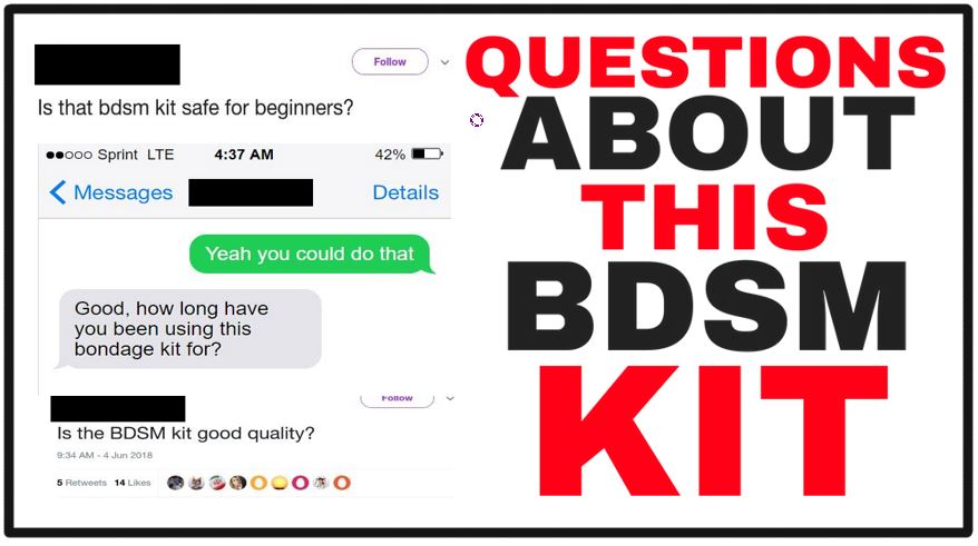 questions about bdsm kits