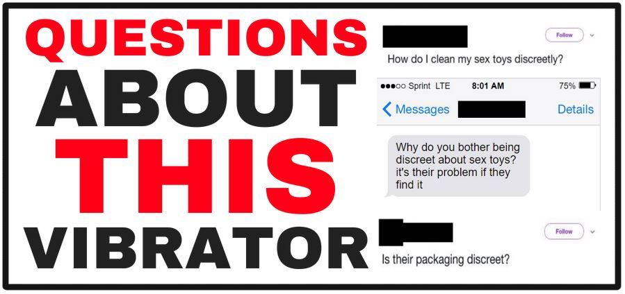 questions about vibrators