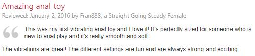 anal bead review