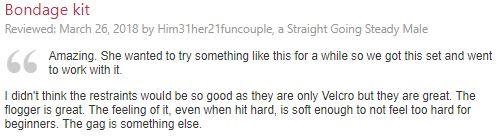 lovehoney reviews