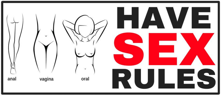 sex rules list