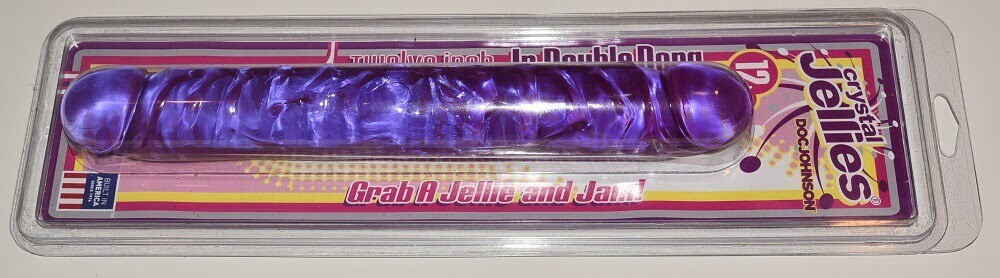 double ended dildo in packaging