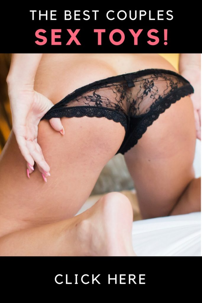 woman taking off in black sheer panties