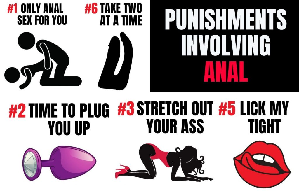punishments involving anal