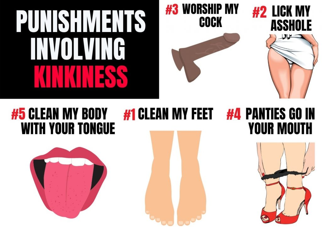 kinky punishment ideas