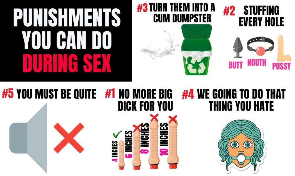 list of punishments you can do during sex