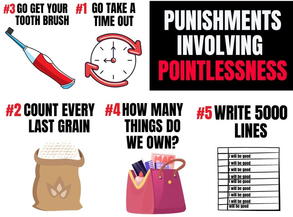 ideas of pointless punishments