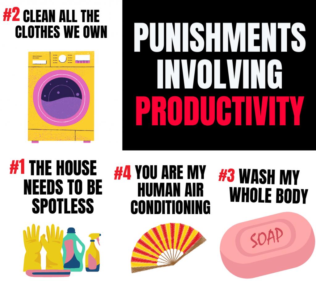 productive punishments