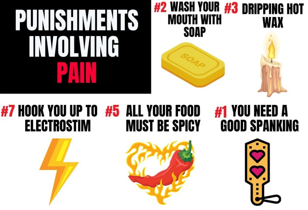 list of punishments involving pain