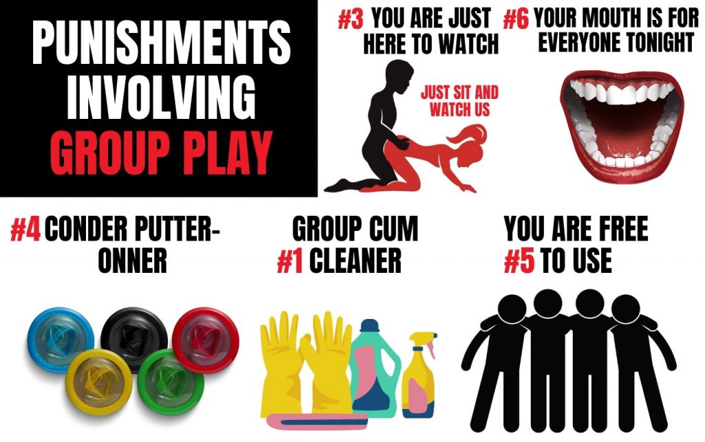 punishments you can do during group play